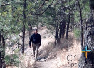 You can still take a walk and get some exercise today just like Chris Rodgers is while we filmed for Cru Spokane. • • • • #earthday #film #storyteller #producer #spokanegram #filminglocation #ministry #spokanedoesntsuck